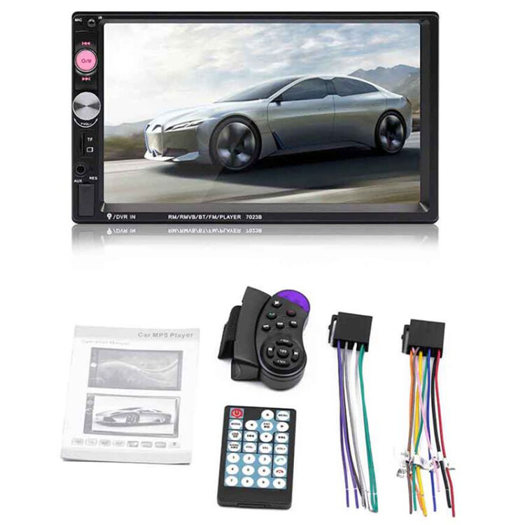 """Bluetooth Double 2Din 6.2/"""" Car Stereo Radio Mirror Link MP5 Player FM AUX USB TF"""