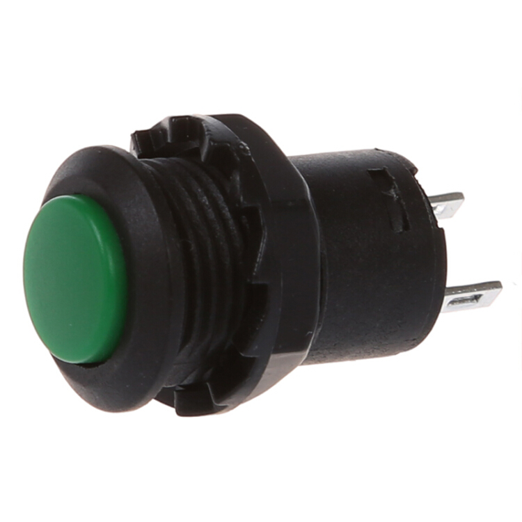 FOR 13MM HOLE BUTTON NORMALLY OPEN SPST RED WATERPROOF PUSH SWITCH