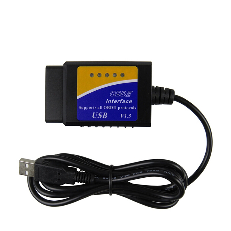 16 Pin OBD2 To USB Port Charger Adapter Cable Connector Diagnostic Tool