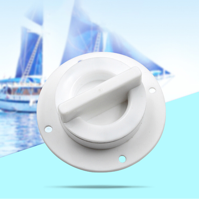 2PCS Plastic Boat Marine 6inch round Access Hatch Cover Lid Screw Out Deck Great