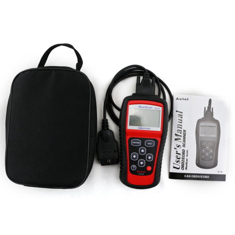 MS509 OBDII 2 Car Engine Fault Diagnostic Scanner Auto Code Reader Can Tool