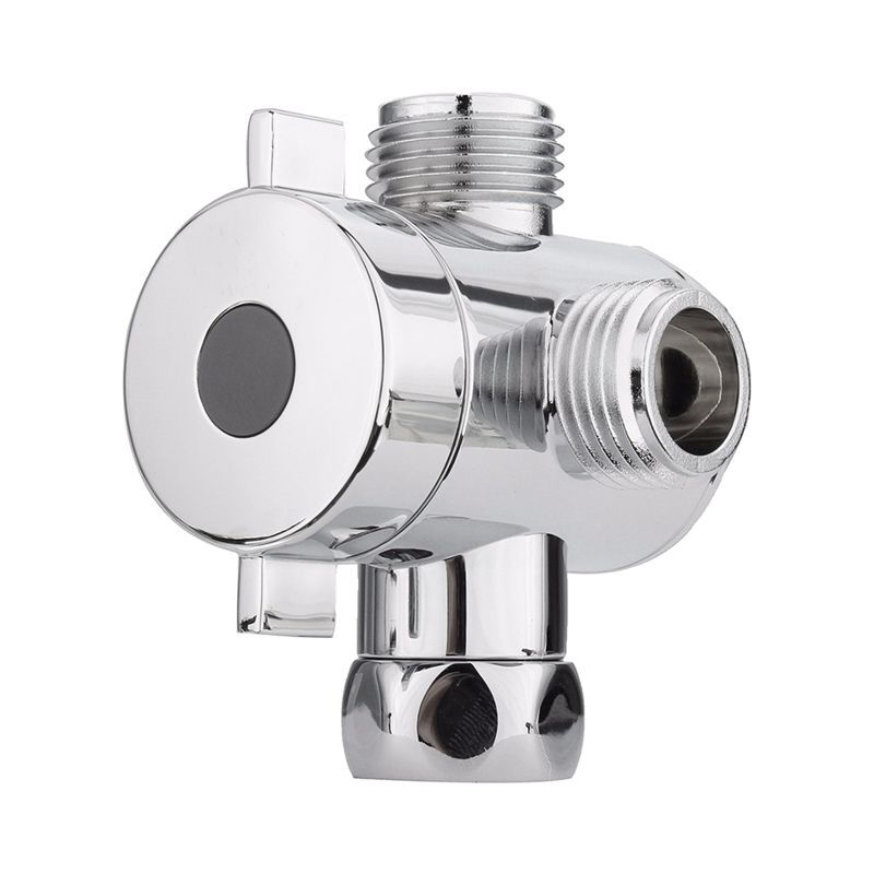 Bathroom Shower Diverter G1//2 Wall Mounted Round Copper Shower Diverter Valve Shower Head Diverter Showering Components