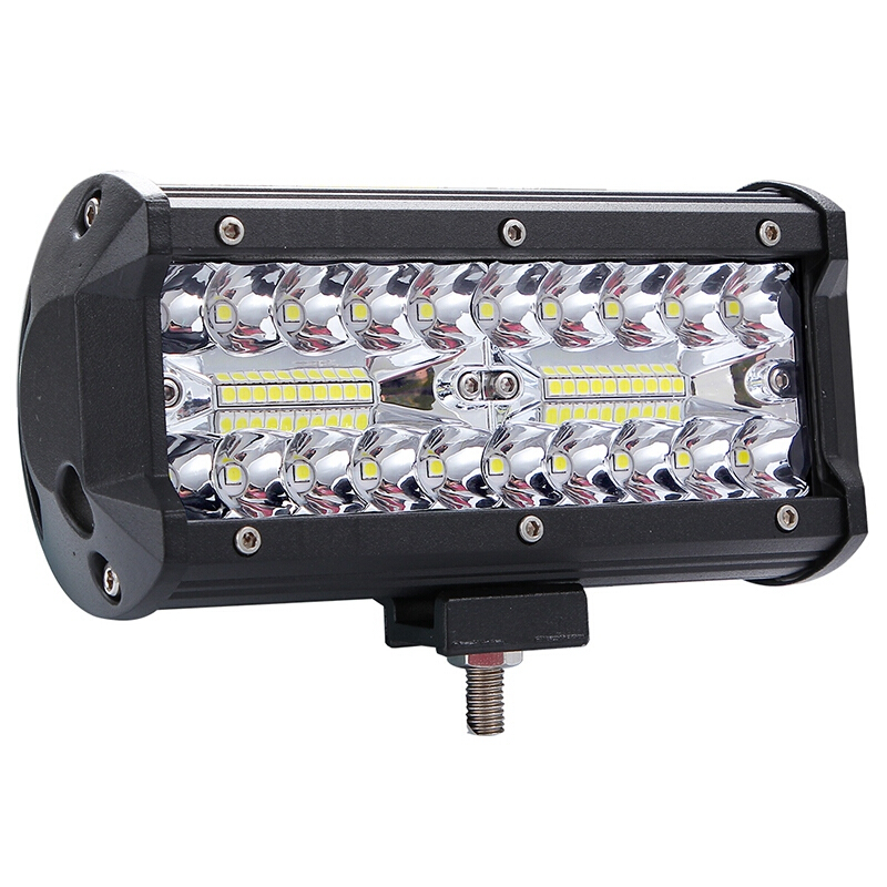 "7/""//5/""INCH 400W LED Work Light Bar Flood Pods Driving OffRoad Tractor 4WD 12V"