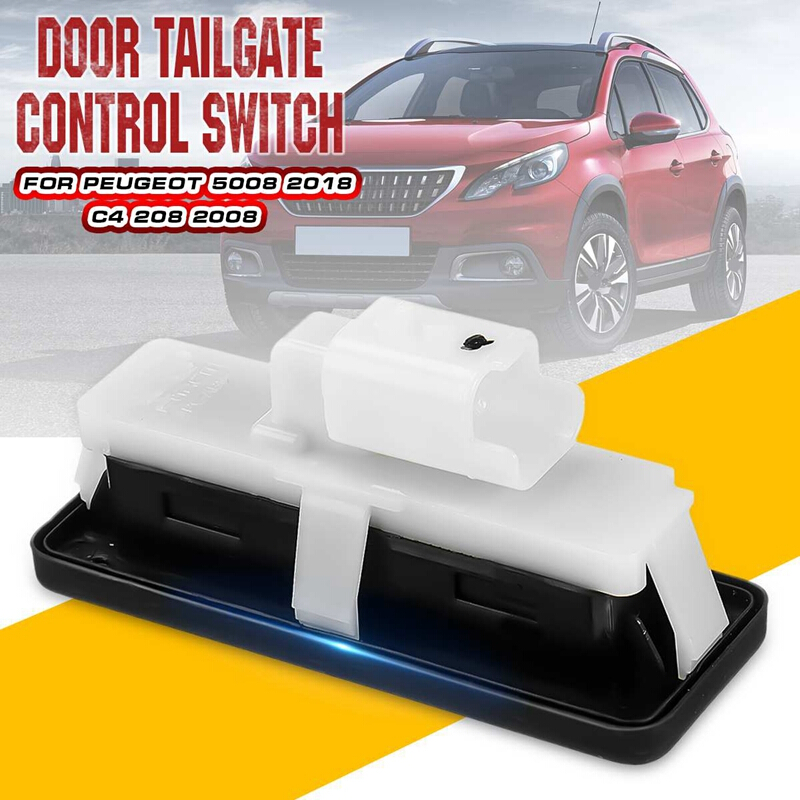 For Citroen C6 2005-2012 Boot Release Switch Tailgate Lock Switch Trunk Handle Button For Citroen C4 Picasso MK1 C2 C6 C5 3008 X7