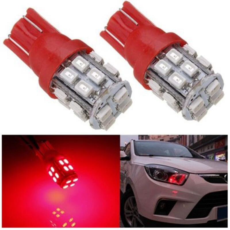 INTERIOR BULBS 2 X 7 LED HID BLUE 501 T10 W5W SIDELIGHT NUMBER PLATE