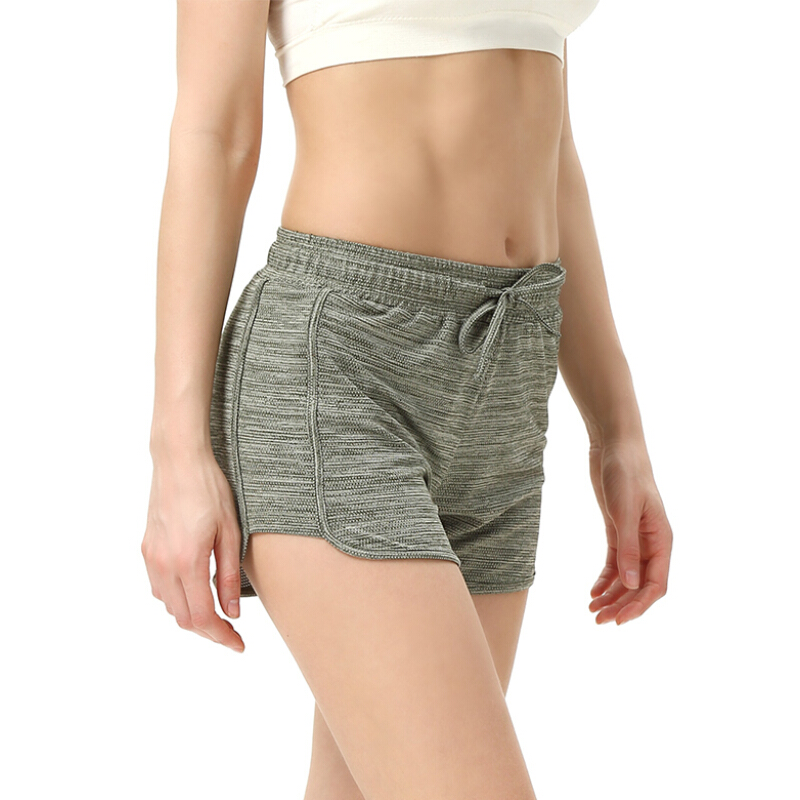 Pack of 3 LIFINAIS Athletic Shorts Women-Running Workout Gym Yoga Shorts with Two Pockets and Adjustable Drawstring