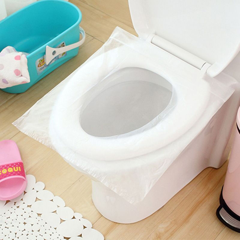 10Pcs//Pack Disposable Paper Toilet Seat Covers For Camping Travel Useful