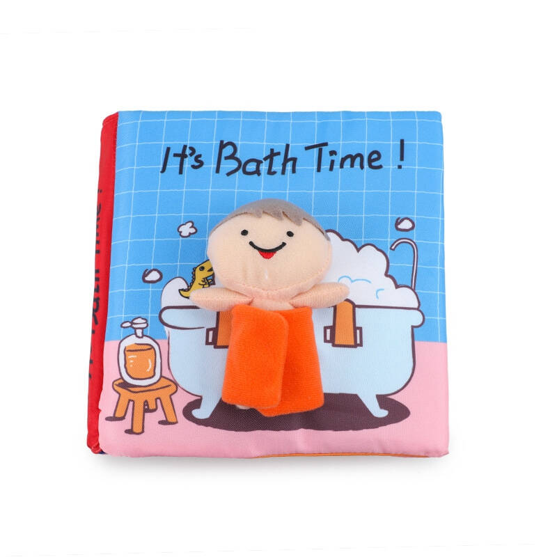 Baby Soft Cloth Book Toy Children Early Learning Cognitive Development Quiet Books Infant Quiet Book