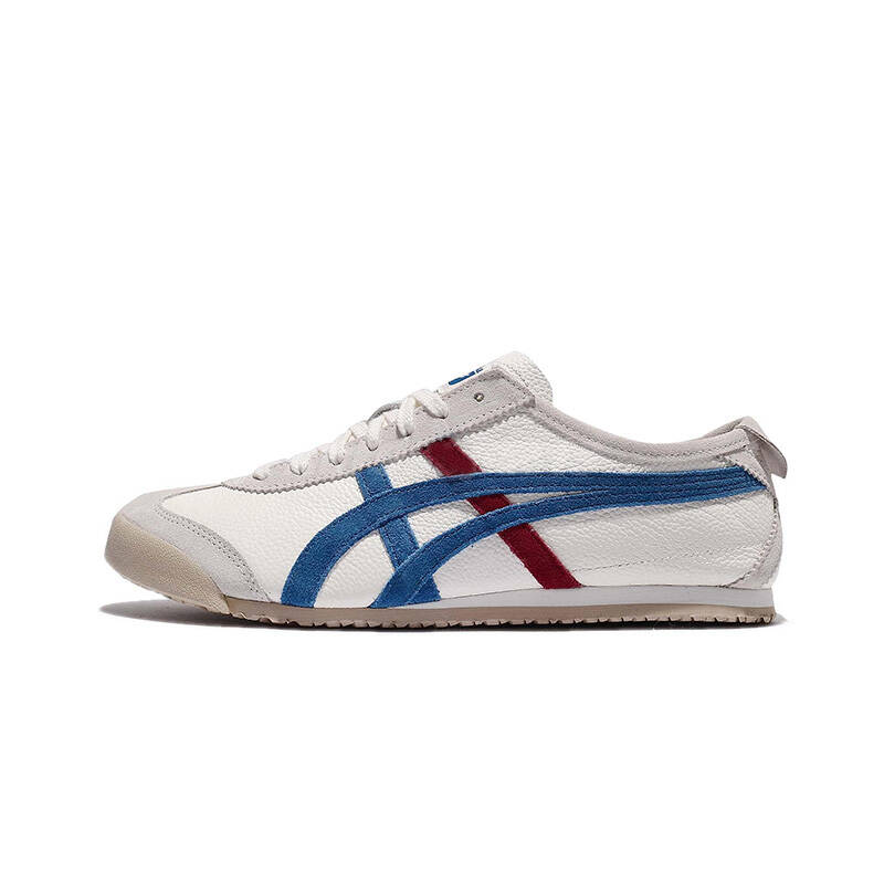 picked up newest united kingdom ซื้อ Asics Onitsuka Tiger Mexico 66 VIN Vntage White Blue Leather ...