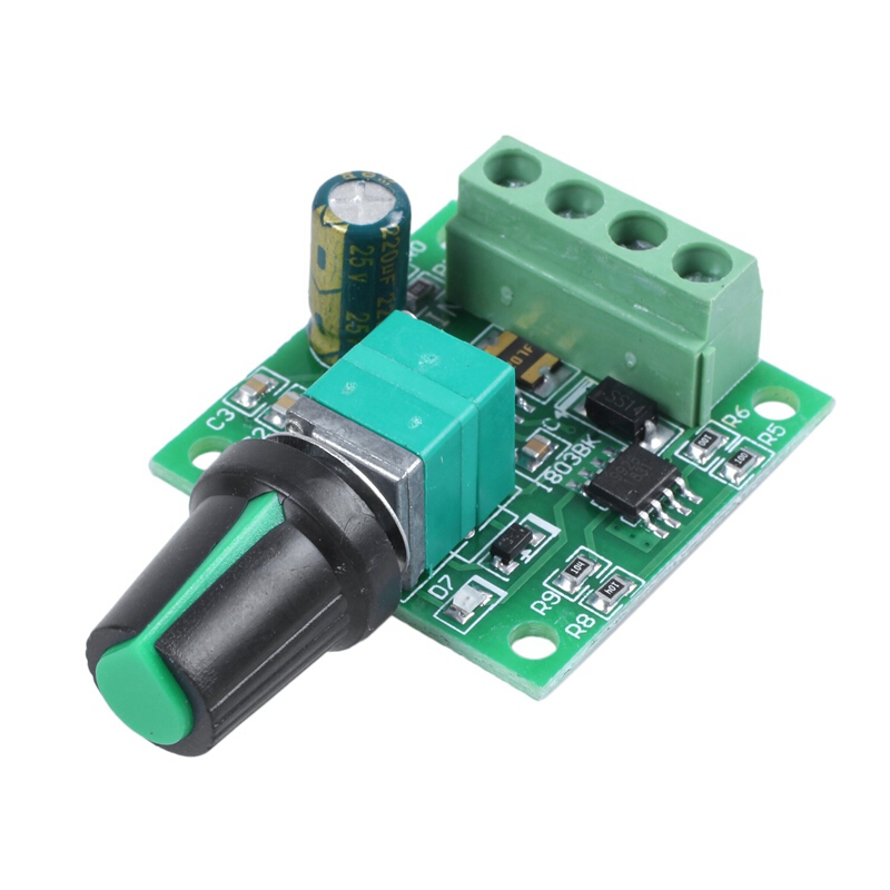 6V-24V 3A PWM DC Motor Speed Regulator Controller with ON//OFF Switch Module
