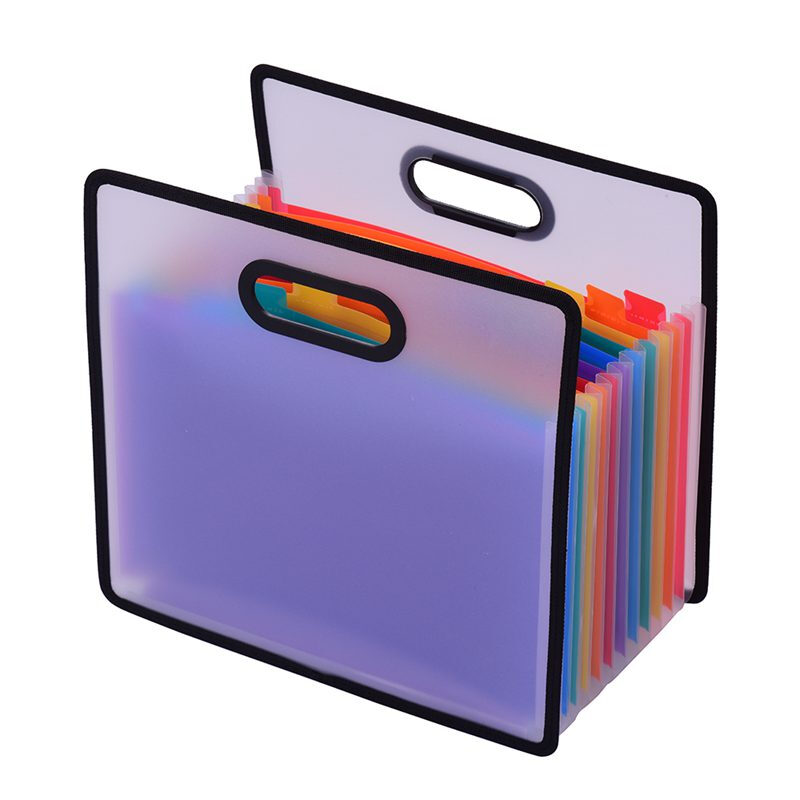 12 Pocket Expanding File Folder