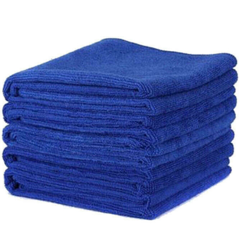 Multi-purpose Microfiber Cleaning Cloths Absorbent /& Fast Drying Towels Car Detailing 16x16, Greyx3
