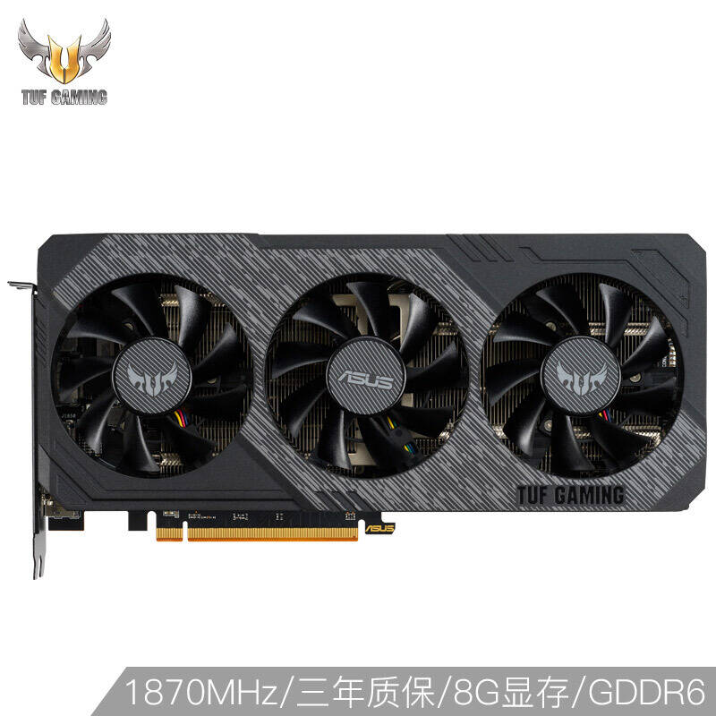 ASUS Raptor ROG-STRIX-RX5600XT-O6G-GAMING 1560-1640MHz 196bit gaming graphics card 6G