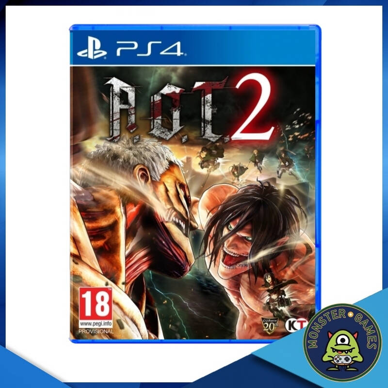 Attack On Titan 2 Ps4 game (AOT 2)