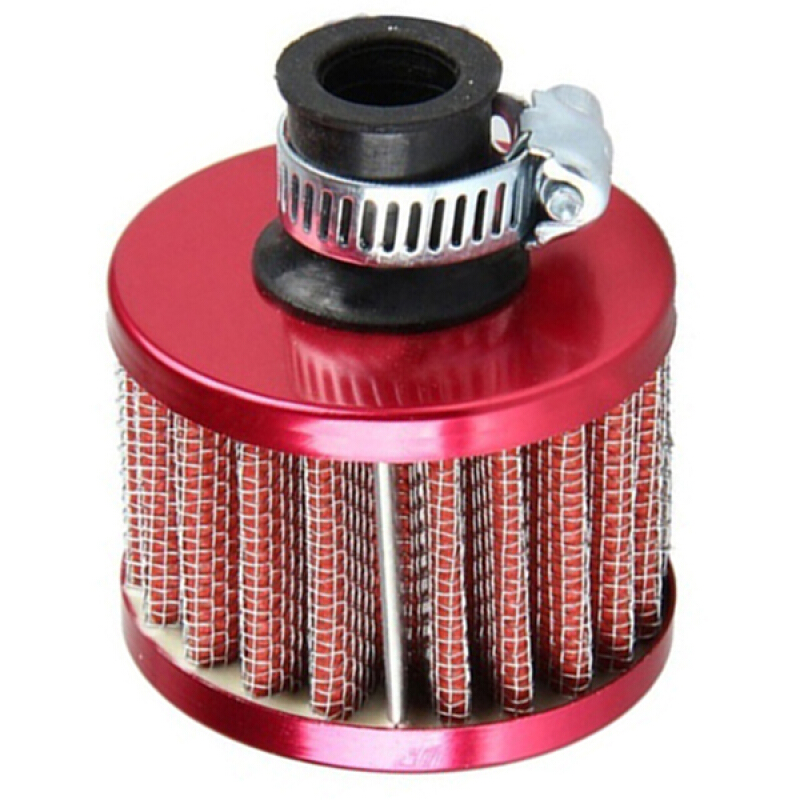 12mm Car Motor Cold Air Intake Filter Turbo Vent Crankcase Breather Washable Hot