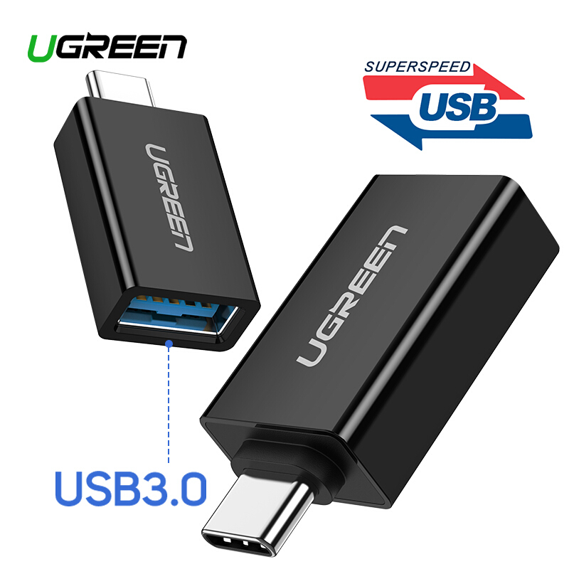 Genuine Samsung USB Type-C Male to Type-A Female Adapter OTG For Galaxy Note 9 8