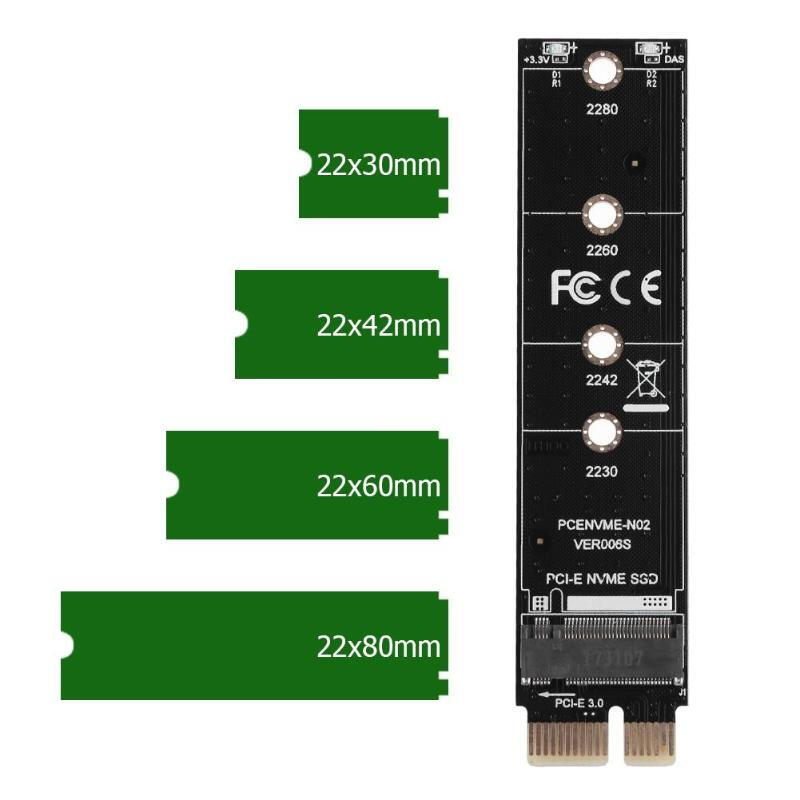 M Key PCIe 3.0 4x M.2 male to female Card NGFF Protect Test Tool for Intel 600P