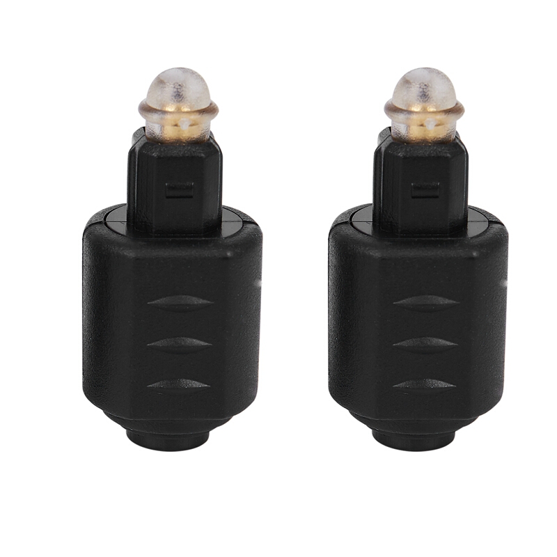Optical 3.5mm Female Mini Jack Plug To Digital Toslink Male Audio Adapter