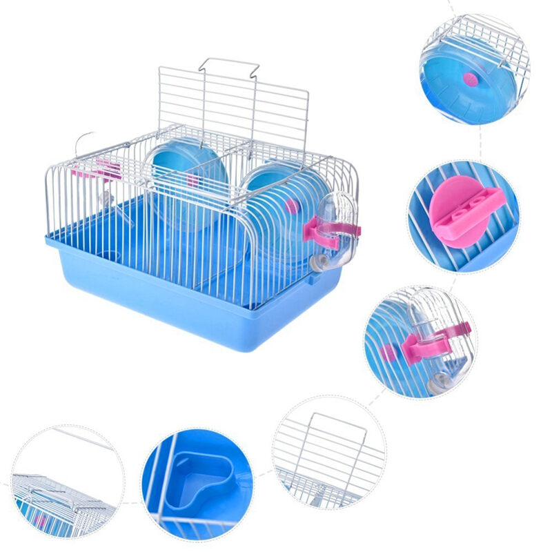 Small Pet Warm Playing Tunnel Tube Hamster Toys Bed Nest Ferret Guinea Pig Plays