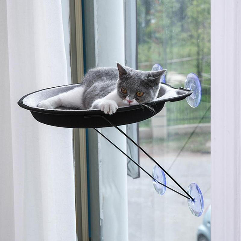 Warm Pet Cat Bed Cage Soft Hanging Bed Hammock Large Winter House