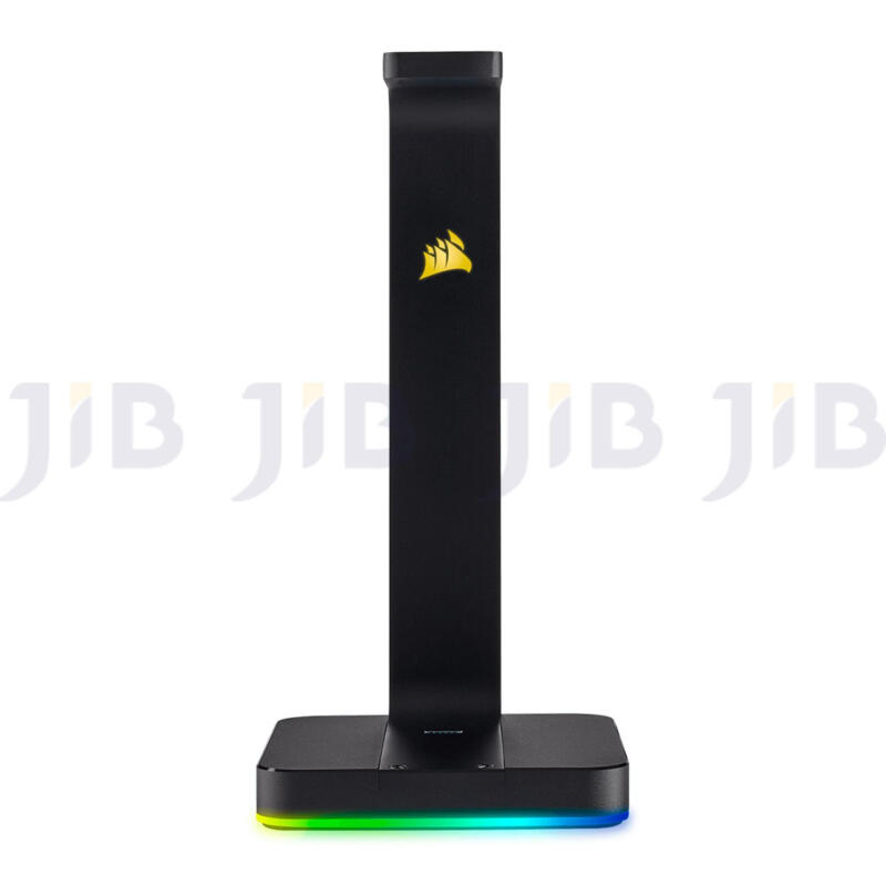 CORSAIR ST100 RGB Premium Headset Stand with 7.1 Surround Sound 3.5mm and...
