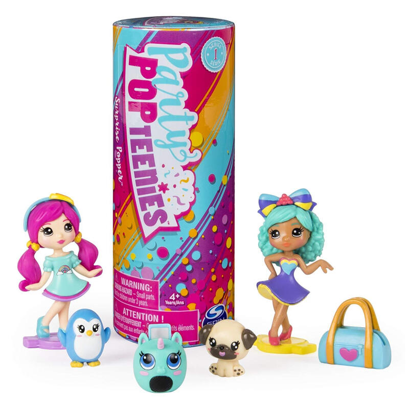 Party Popteenies Series 1 Double Surprise Popper